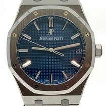 Audemars Piguet Royal Oak Steel 41mm Blue No numerals