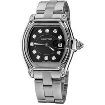 Cartier Roadster Steel 36mm Black No numerals United States of America, New York, NEW YORK CITY