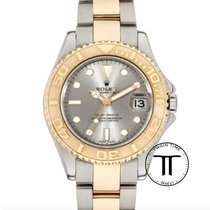 Rolex Yacht-Master Gold/Steel 35mm White No numerals United States of America, New York, New York