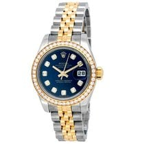 Rolex Lady-Datejust Gold/Steel 26mm Blue No numerals United States of America, California, Los Angeles
