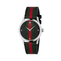 Gucci Acier Quartz YA1264079 nouveau
