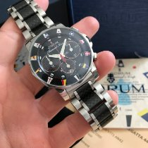 Corum Admiral's Cup (submodel) Steel 44mm Black