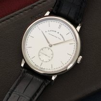 A. Lange & Söhne Saxonia White gold 37mm Silver United States of America, New York, New York
