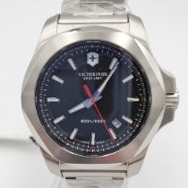 Victorinox Swiss Army Steel 43mm Quartz 241723.1 new
