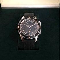 Jaeger-LeCoultre Memovox Tribute to Deep Sea Steel 40,5mm Black No numerals