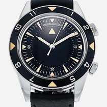 Jaeger-LeCoultre Memovox Tribute to Deep Sea Acero 40,5mm Negro Sin cifras