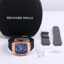 Richard Mille RM 010 Oro rosa 48mm Transparente Arábigos