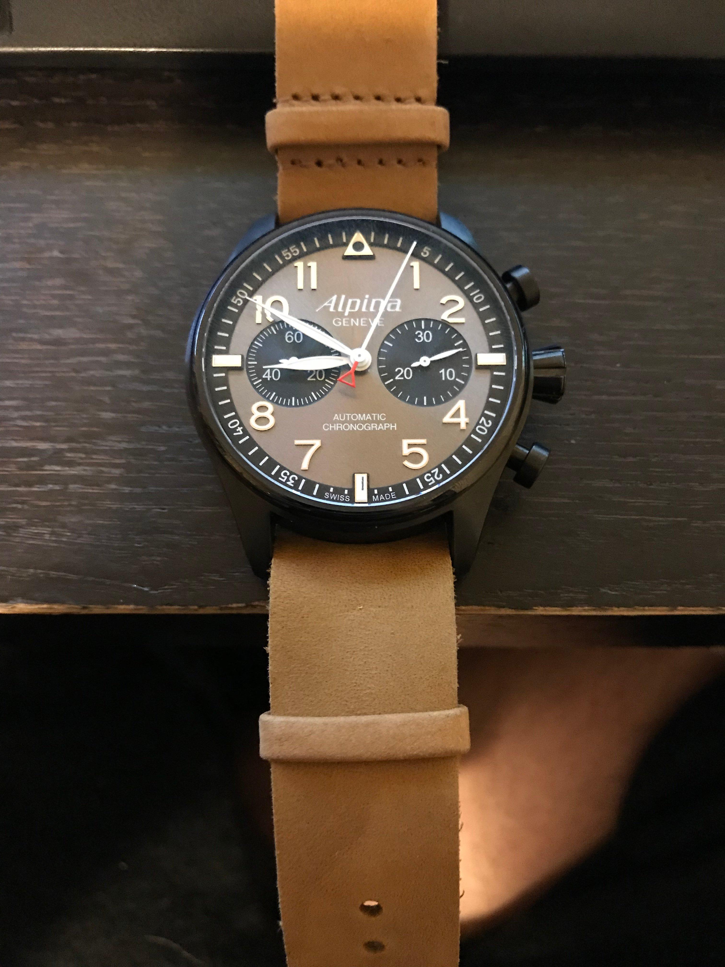 alpina uhren chronos automatisch
