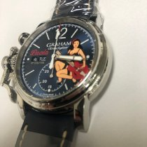 Graham Steel 43mm Automatic 2CVAS.UMA new