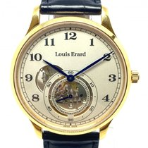 Louis Erard Steel 41mm Automatic 32217AA31 pre-owned