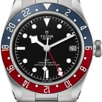 Tudor Steel 41mm Automatic Black Bay GMT new