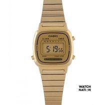 Casio Or/Acier 30.3mm Quartz LA670WGA-9DF nouveau