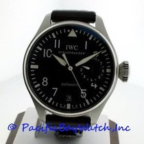 IWC Steel Automatic Black Arabic numerals 46mm pre-owned Big Pilot