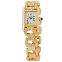 Cartier Tank Louis Cartier Yellow gold 152mm White United States of America, Florida, Miami
