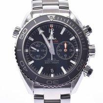 Omega Seamaster Planet Ocean Chronograph Acél 45mm Fekete