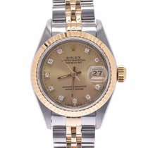Rolex Lady-Datejust Yellow gold 25mm Champagne