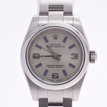 Rolex Oyster Perpetual 26 Steel 25mm Silver