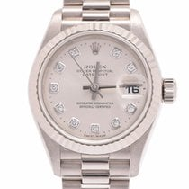 Rolex 79179G Or blanc 25mm occasion