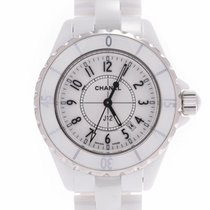 Chanel occasion Quartz 33mm Blanc 20 ATM