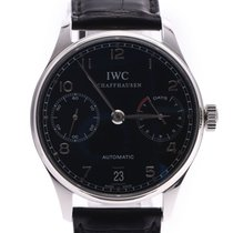 IWC Portuguese Automatic Steel 42mm Black