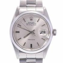 Rolex Air King Date Steel 33mm Silver