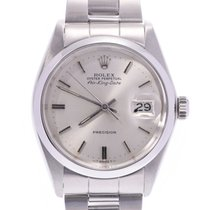 Rolex 5700 Steel Air King Date 33mm pre-owned