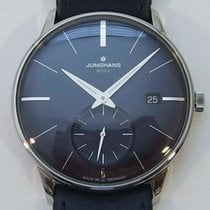 Junghans Meister MEGA Steel 38,4mm Blue No numerals