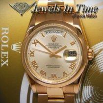 Rolex Day-Date 36 Or rose 36mm Rose Romain