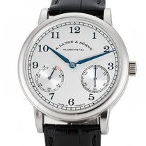 A. Lange & Söhne 1815 White gold 39mm Silver Arabic numerals United States of America, New York, New York