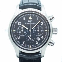 IWC Pilot Chronograph Steel 36mm Black Arabic numerals Singapore, Singapore