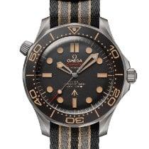 Omega Seamaster Diver 300 M Titanium 42mm Brown