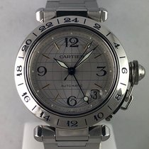 Cartier Pasha C Acero 35mm Plata Árabes