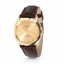 Rolex Oyster Perpetual 34 Yellow gold 34mm Champagne United States of America, New York, New York