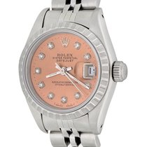 Rolex Women's watch Oyster Perpetual Lady Date 25mm Automatic pre-owned Watch with original box