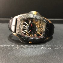 Franck Muller pre-owned Automatic 57mm Black Sapphire crystal