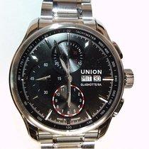 Union Glashütte Viro Chronograph Steel 43mm Black