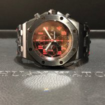 Audemars Piguet Steel 42mm Automatic 26186SN.OO.D101CR.01 pre-owned Singapore, Singapore