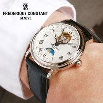 Frederique Constant FC-335MC4P6 Frederique Constant MOONPHASE Acciaio Argento 2020 new