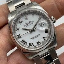Rolex Datejust Acél 36mm Fehér