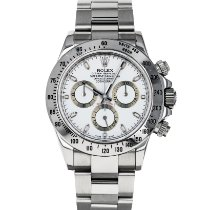 Rolex Daytona Steel 40mm White No numerals United States of America, Maryland, Baltimore, MD