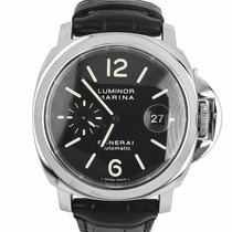 Panerai Luminor Marina Automatic Steel 44mm Black Arabic numerals United States of America, New York, Massapequa Park