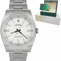 Rolex Oyster Perpetual 36 Steel 34mm White United States of America, New York, Massapequa Park
