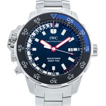 IWC Aquatimer Deep Two Stål 46mm Svart