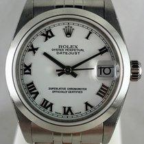 Rolex Lady-Datejust Zeljezo 31mm Bjel Rimski brojevi