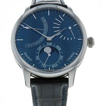 Maurice Lacroix Steel Automatic 43mm pre-owned Masterpiece Phases de Lune