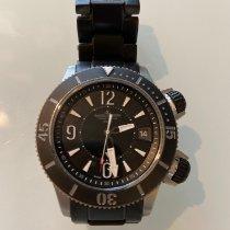 Jaeger-LeCoultre Master Compressor Diving Alarm Navy SEALs Titane 44mm Noir Arabes