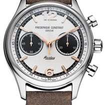 Frederique Constant Vintage Rally Steel 42mm Black