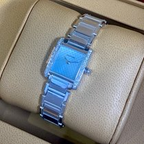 Cartier Tank Française new Quartz Watch with original box and original papers WE1002S3