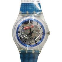Swatch neu Quarz 33mm Kunststoff Plexiglas