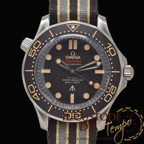 Omega Seamaster Diver 300 M Titan 42mm Hnědá Bez čísel